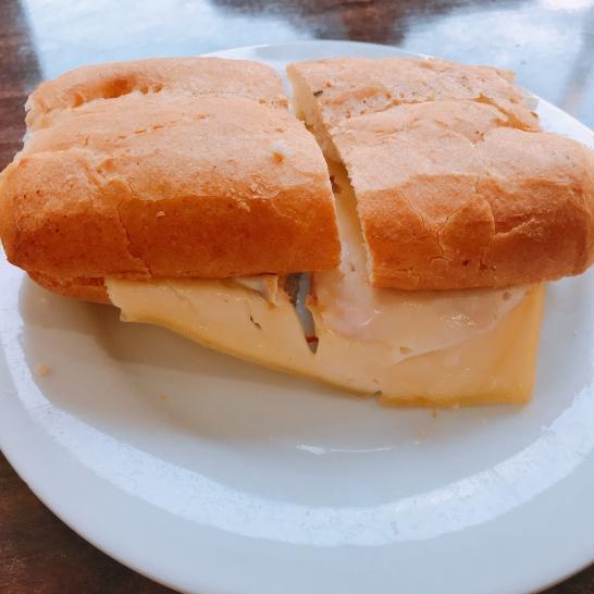 Mixto queso con jamón de pavo