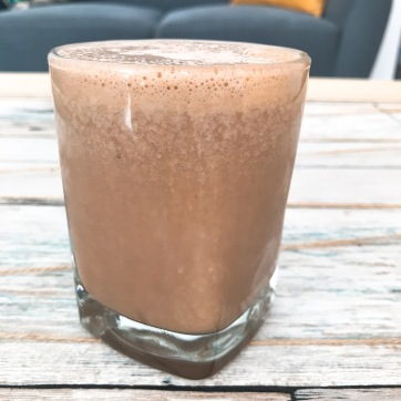 Batido de Cacao y Plátano
