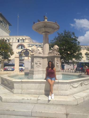 Plaza en La Habana