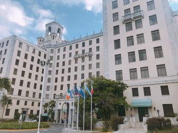 Frontis del Hotel Nacional