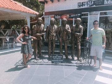 Con los Beatles