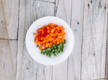 Zanahoria y Arveja
