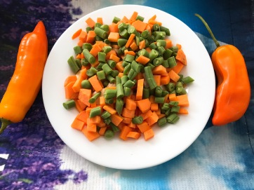 Zanahoria y Vainita