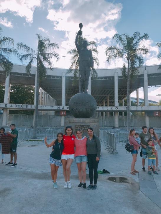 Mercosur Femenina en el Maracaná