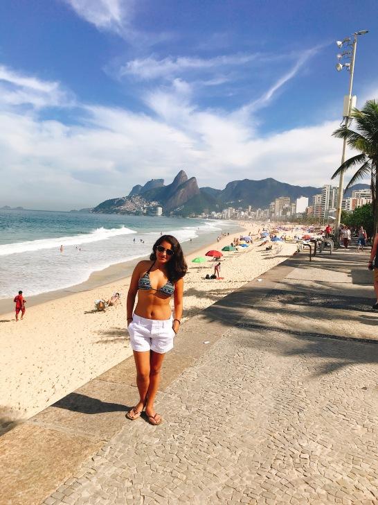 Hermosa Vista de la Playa