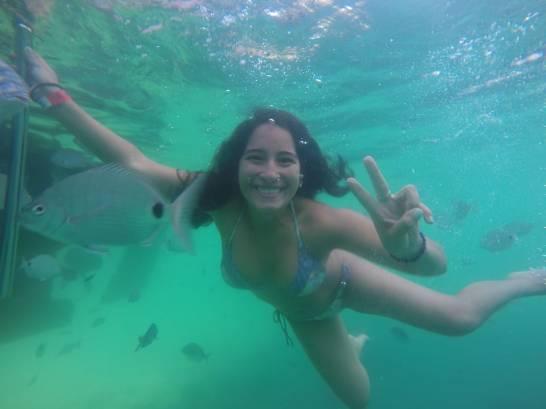 Nadando con los Peces